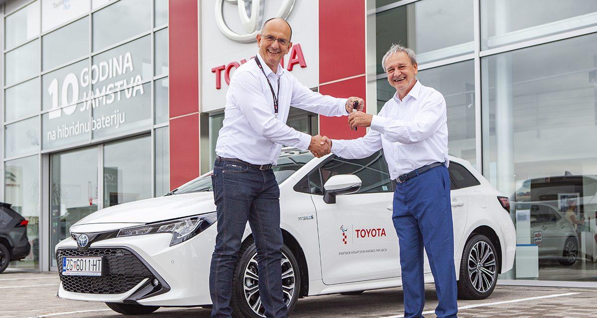 Toyota Croatia i Hrvatski paraolimpijski odbor nastavljaju partnerstvo