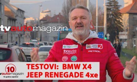 SEZONA 10 – EMISIJA 19 – Jeep Renegade 4xe, novi Dacia Sandero, BMW X4, Maserati i Bosch, Bentley Flying Spur