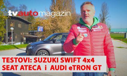 SEZONA 10 – EMISIJA 24 – Seat Ateca, Portret Tatjana Varga, Suzuki Swift Hybrid 4×4, Nissan Qashqai, Audi eTron GT