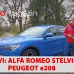 SEZONA 10 – EMISIJA 28 – Peugeot e208, Honda autonomna vožnja, Alfa Romeo Stelvio, portret Marko Car, BMW serije 4 Convertible