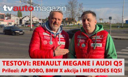 SEZONA 10 – EMISIJA 32 – Renault Megane, AP Bobo, Audi Q5, BMW X akcija i Mercedes EQS