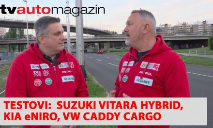 SEZONA 10 – EMISIJA 37 – Suzuki Vitara Hybrid, Petrol električne punionice, Kia eNiro, Volkswagen Caddy Cargo, Genesis GV80