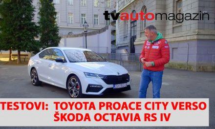 SEZONA 10 – EMISIJA 40 – Toyota Proace City Verso, Renault Megane Conquest, Škoda Octavia RS IV, Eurorepar Osijek Integra Dundović, Jaguar F-Pace SVR