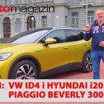 SEZONA 10 – EMISIJA 41 – Hyundai i20, Piaggio Beverly 300, Volkswagen ID4, festival elektromobilnosti, Lexus LC500