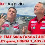 SEZONA 10 – EMISIJA 43 – Fiat 500eCabrio, Peugeot LEV gama, Audi Q2, Honda X-ADV, BMW i4
