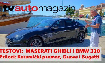 SEZONA 10 – EMISIJA 44 – Maserati Ghibli, AP Bobo i keramički premazi, BMW 320d X-Drive, Grawe i tržište osiguranja, Bugatti Chiron Supersport