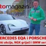 SEZONA 10 – EMISIJA 48 – Mercesdes EQA, Suzuki akcija, Porsche Taycan, NGK grijači, BMW serije 4 Cabrio