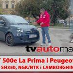 SEZONA 10 – EMISIJA 50 – Fiat 500e La Prima, Honda SH350, Peugeot 3008 Hybrid4, NGK svjećice, Lamborghini Huracan Super Trofeo EVO2