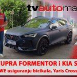SEZONA 11 – EMISIJA 02 – Kia Sorento, Grawe osiguranje bicikala, Cupra Formentor e-Hybrid, Toyota Yaris Cross, Lamborghini Countach